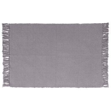 Dywan bawełniany Basic siwy 50 x 80 cm Inspire