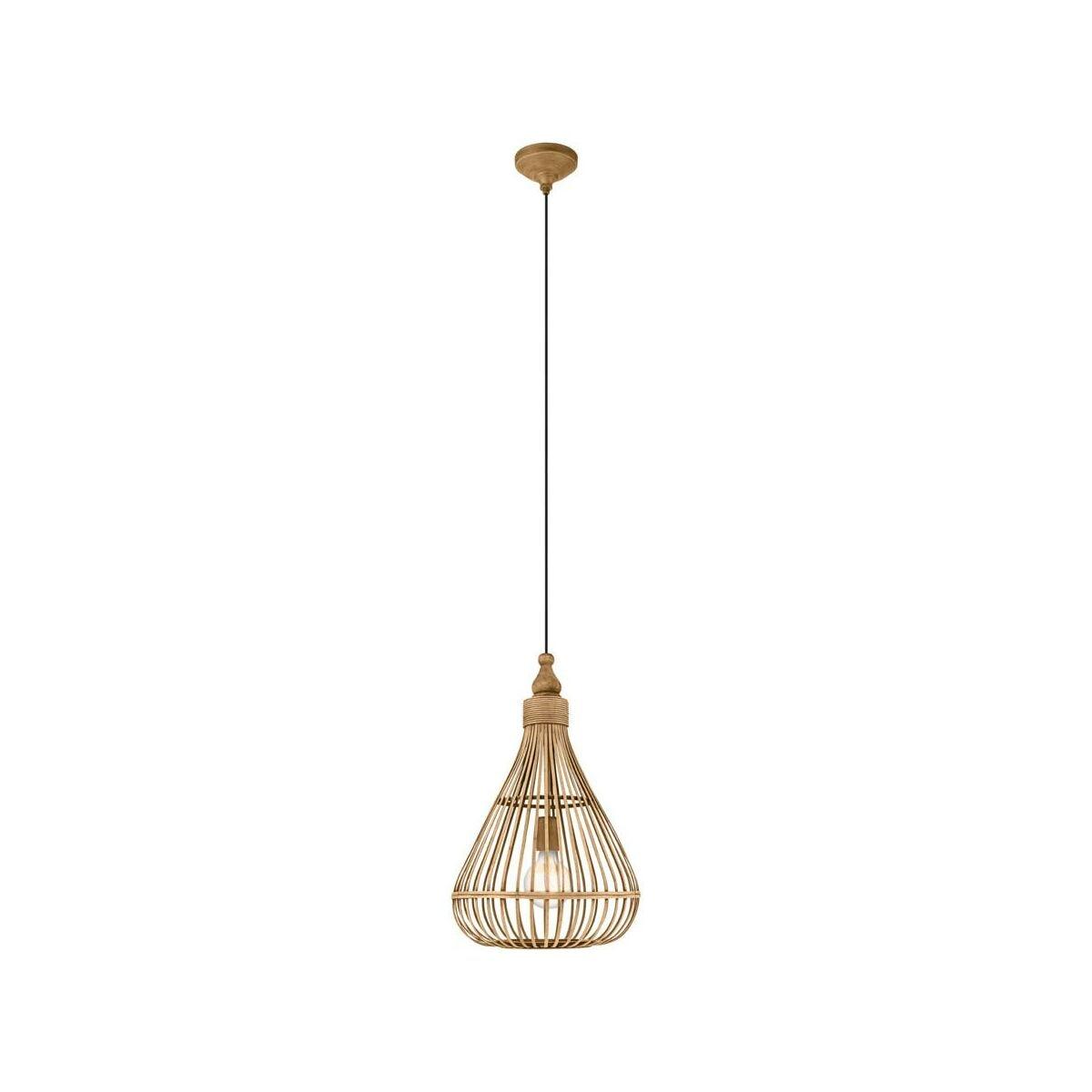 Lampa Wiszaca Amsfield Bambus E27 Eglo Zyrandole Lampy Wiszace I Sufitowe W Atrakcyjnej Cenie W Sklepach Leroy Merlin