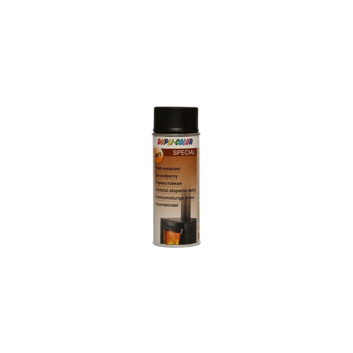 Lakier Wysokotemperaturowy Zaroodporny Czarny Dupli Color Spraye