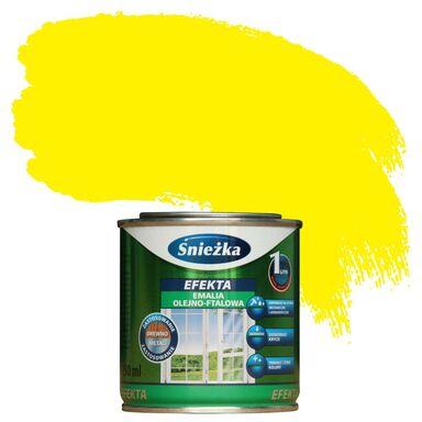 Emalia EFEKTA 0,25 l Żółty ŚNIEŻKA