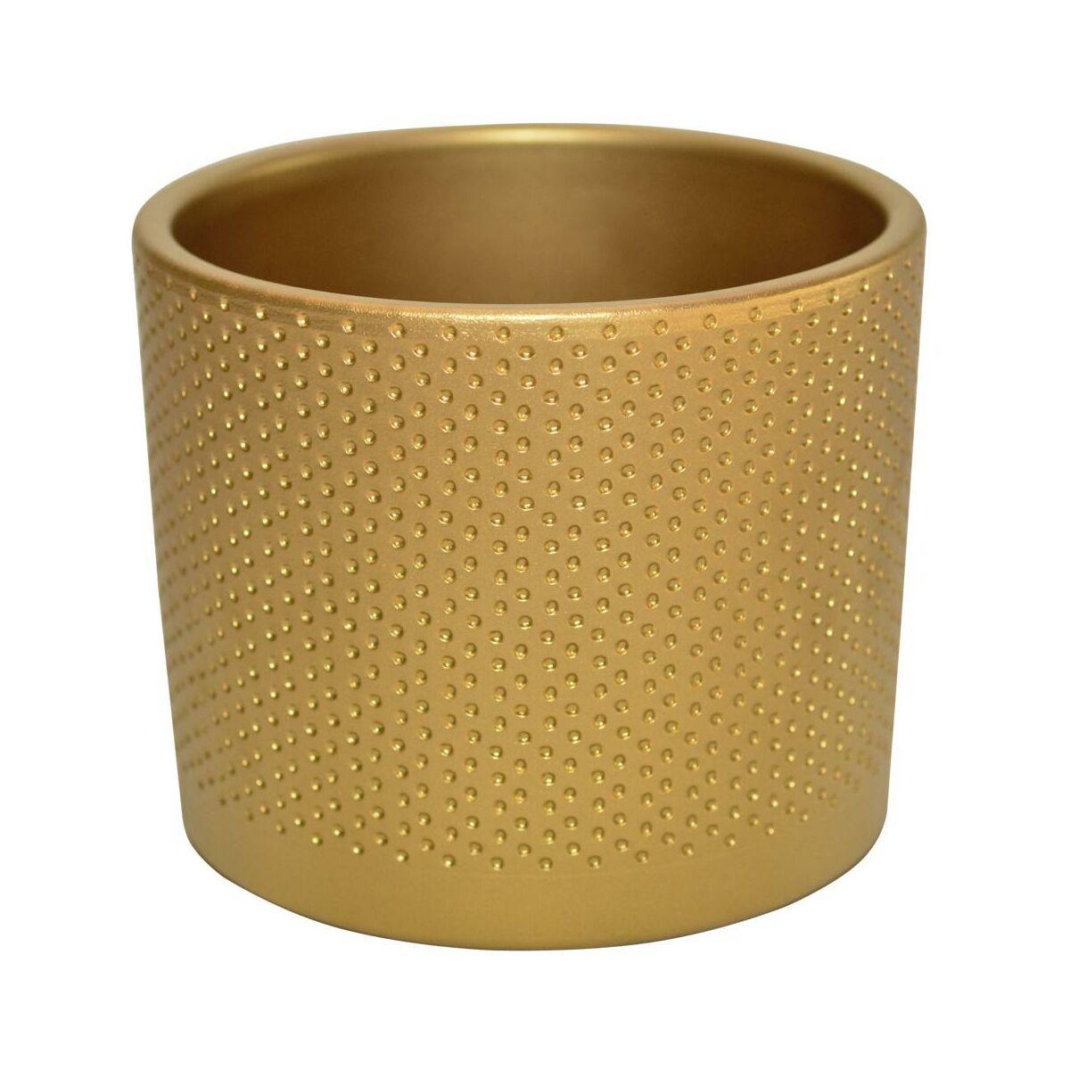 Osłonka Ceramiczna 194 Cm Złota Walec Ceramik