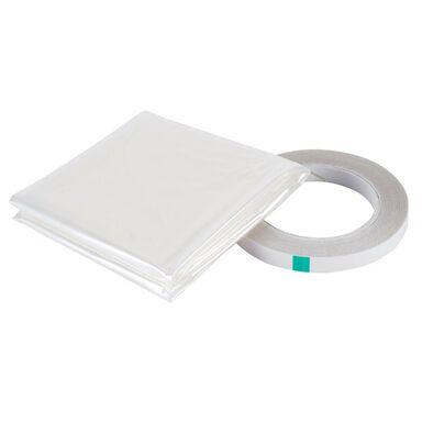 Folia izolacyjna do szyb 4 x 1.5 m transparentna AXTON