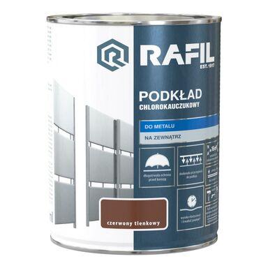 Podkład chlorokauczukowy 0.9 l czerwony tlenkowy RAFIL