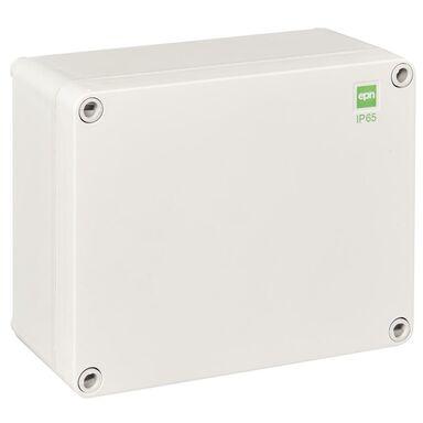 Puszka instalacyjna N/T 170 x 135 x 85 mm IP65 szara ELEKTRO-PLAST