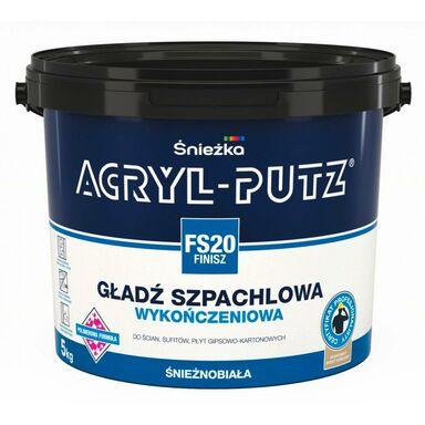 Gładź szpachlowa ACRYL-PUTZ FS20 FINISZ 5 kg ŚNIEŻKA