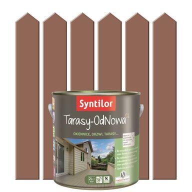 Farba do drewna TARASY ODNOWA Terakota SYNTILOR