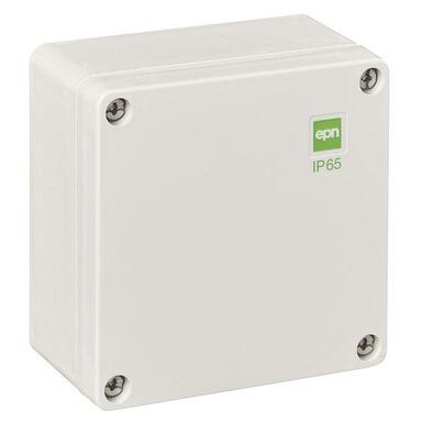 Puszka instalacyjna N/T 105 x 105 x 66 mm IP65 szara ELEKTRO-PLAST