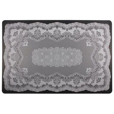 Podkładka na stół Bobbin prostokątna 44 x 29 cm biała