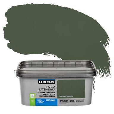 Farba wewnętrzna NARAŻONYCH NA ZABRUDZENIA 2.5 l Fabryka zieleni LUXENS