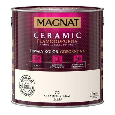 Farba wewnętrzna CERAMIC 2.5 l Aksamitny agat MAGNAT