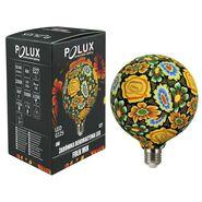 Żarówka LED E27 (230 V) 4 W folklor kwiaty POLUX