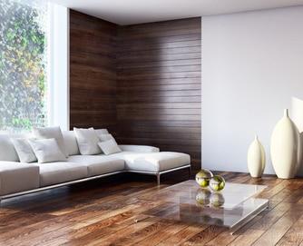 ciana udekorowana p ytami drewnianymi i drewnopodobnymi porady leroy merlin. Black Bedroom Furniture Sets. Home Design Ideas