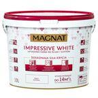 Farba wewnętrzna Impressive white 10 l biała Magnat