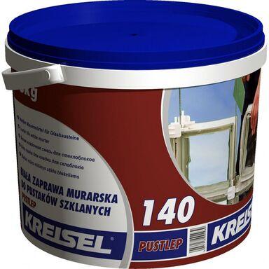 Zaprawa murarska do luksferów PUSTLEP 140 Biała 15 kg KREISEL
