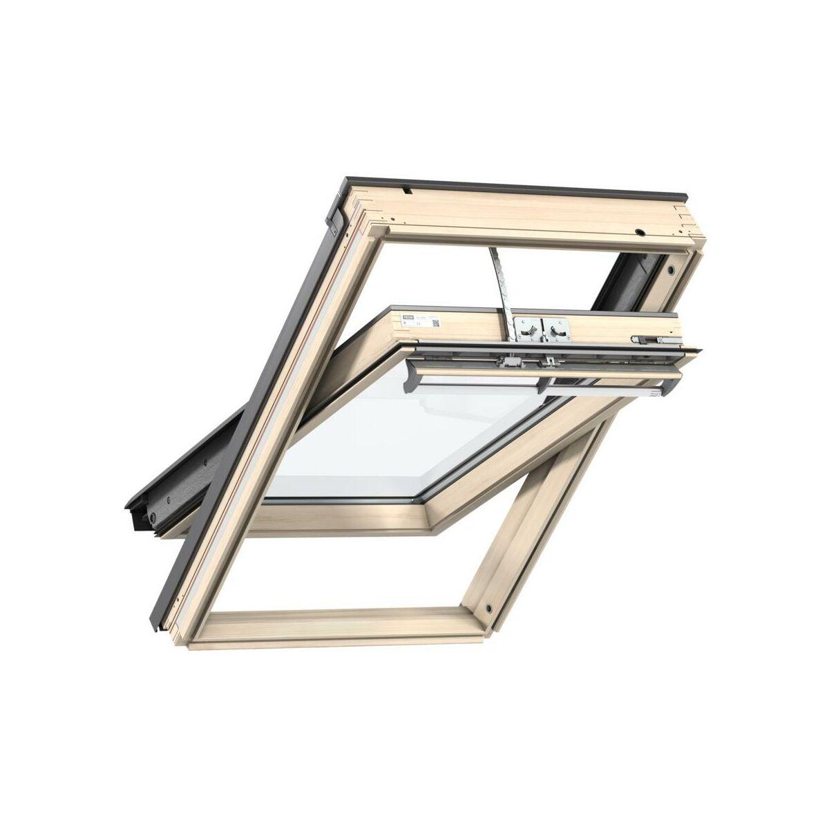 okno dachowe ggl sk06 3060r21 velux okna dachowe w atrakcyjnej cenie w sklepach leroy merlin. Black Bedroom Furniture Sets. Home Design Ideas