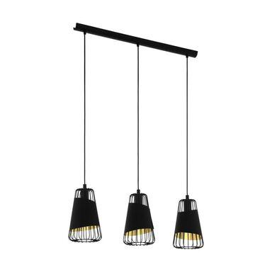 Lampa wisząca Austell czarno-złota 3 x E27 Eglo