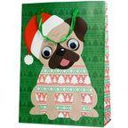 Torebka na prezenty DOG IN JUMPER 12 x 41 cm