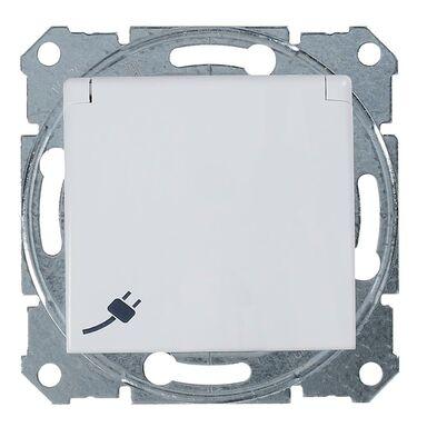 Gniazdo pojedyncze SEDNA SCHUKO IP44 biały SCHNEIDER ELECTRIC