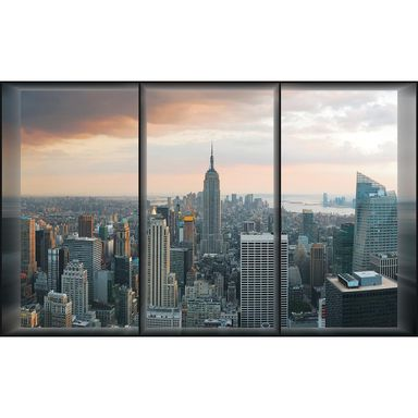 Fototapeta NEW YORK WINDOW 254 x 184 cm