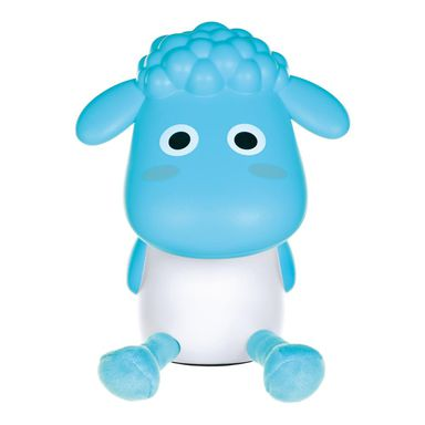 Lampka nocna dziecięca BARANEK niebieska ACTIVEJET