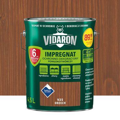Impregnat do drewna Powłokotwórczy 4.5 l Orzech Vidaron