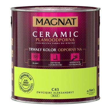 Farba wewnętrzna CERAMIC 2.5 l Zwycięski aleksandryt MAGNAT