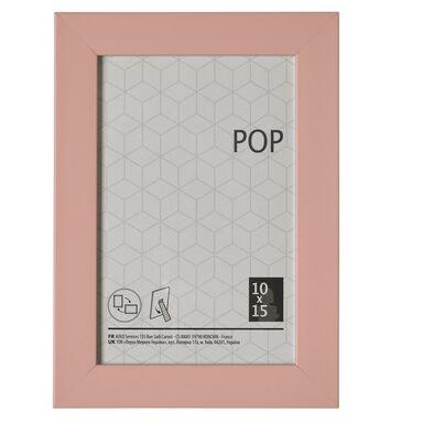 Ramka na zdjęcia Pop 10 x 15 cm różowa Inspire