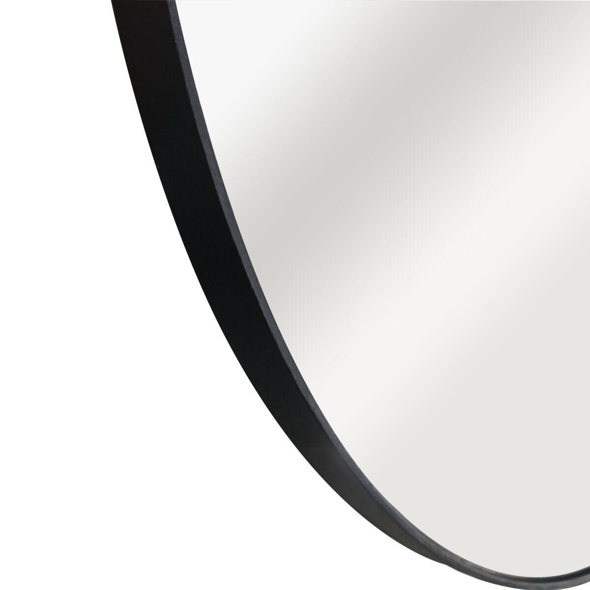 Lustro Okragle Circle Czarne Sr 50 Cm Inspire Lustra Dekoracyjne W Atrakcyjnej Cenie W Sklepach Leroy Merlin