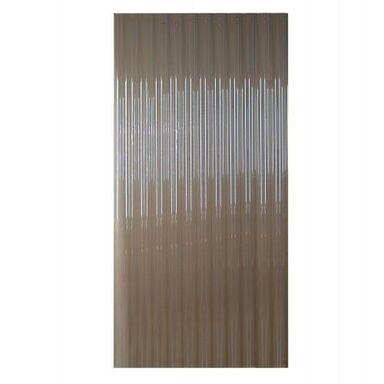 Płyta falista PVC Brązowa 250 x 90 cm