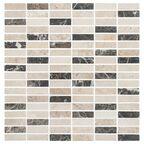 Mozaika EMPERATOR TRAWERTYN 1,5 x 4,8 30,00 x 30,00 MARMARA