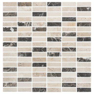 Mozaika EMPERATOR TRAWERTYN 1,5 x 4,8 30 x 30 MARMARA