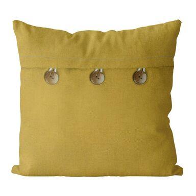 Poduszka Vintage żółta 40 x 40 cm