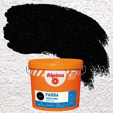 Farba elewacyjna akrylowa Czarny ALPINA EXPERT