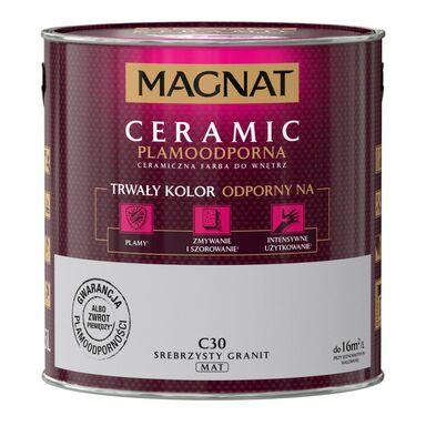 Farba wewnętrzna CERAMIC 2.5 l Srebrzysty granit MAGNAT