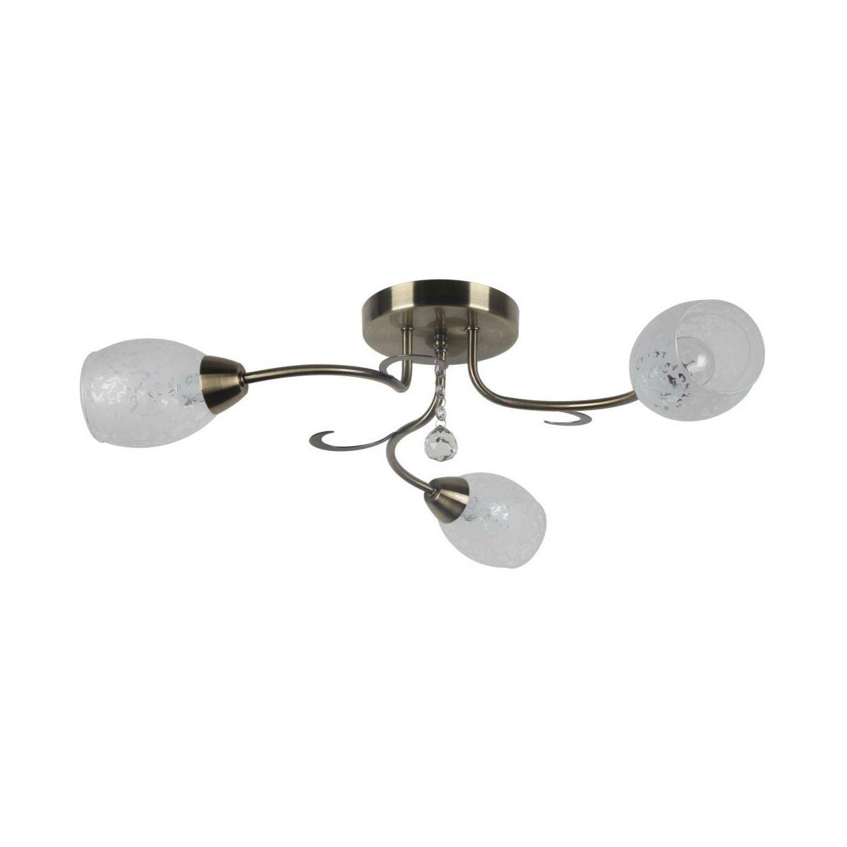 Zyrandol Crissy Patyna E14 Reality Zyrandole Lampy Wiszace I Sufitowe W Atrakcyjnej Cenie W Sklepach Leroy Merlin