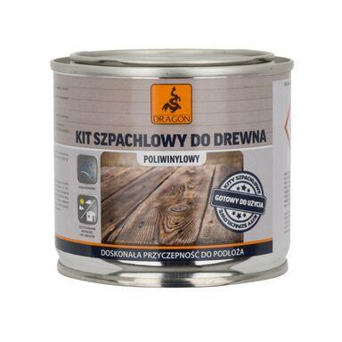 Kit szpachlowy do drewna 0.25 kg DRAGON