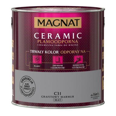 Farba wewnętrzna CERAMIC 2.5 l Grafitowy marmur MAGNAT
