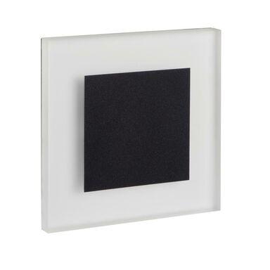 Oprawa schodowa APUS czarna kwadratowa LED KANLUX