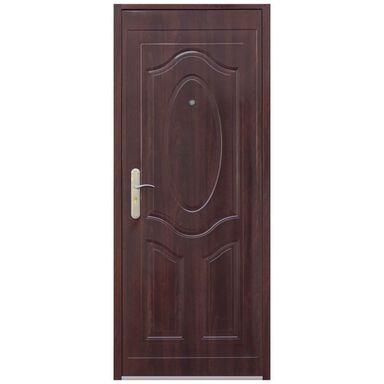 Drzwi wejściowe RA-07 Mahoń 80 Prawe OK DOORS TRENDLINE