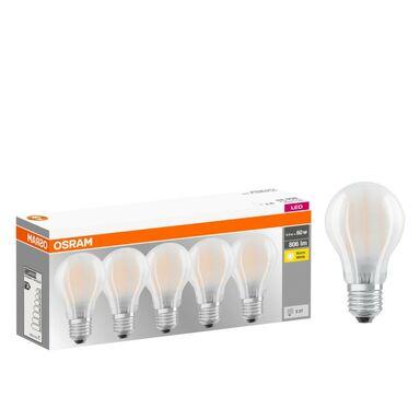 Żarówka LED E27 5 szt. (230 V) 7 W 806 lm Ciepła biel OSRAM