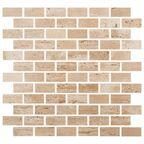 Mozaika TRAVERTYN CLASSIC ŻYWICA SMALL BRICH 30,50 x 30,50 MARMARA