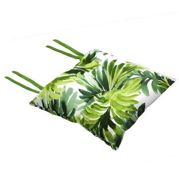 Poduszka na krzesło Silla Tropical zielona 40 x 40 x 2 cm