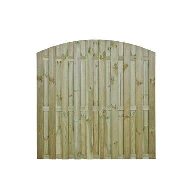 Płot deskowy z łukiem 180x180 cm drewniany MULTI SOBEX