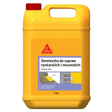 Plastyfikator do zapraw murarskich i tynkarskich SIKACEM PLAST 5 kg SIKA
