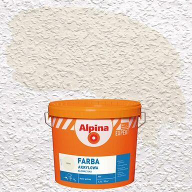 Farba elewacyjna AKRYLOWA 2.5 l Ecru ALPINA EXPERT