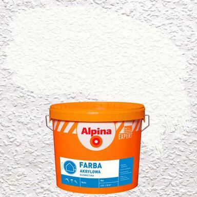 Farba elewacyjna AKRYLOWA 2.5 l Biały ALPINA EXPERT