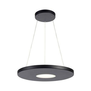 Lampa wisząca Plate czarna LED Markslojd