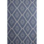 Dywan bawełniany Mersin niebieski 75 x 150 cm