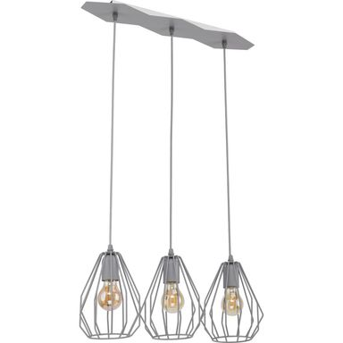 Lampa wisząca BRYLANT szara E27 TK LIGHTING
