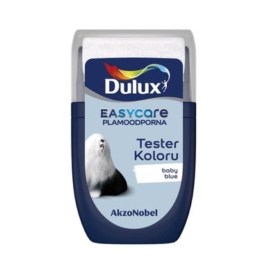 Tester farby EASYCARE 30 ml Baby blue DULUX